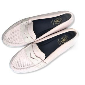 Cole Haan • Blush Pink slip on Nantucket loafers